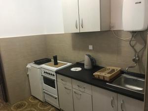 Кухня или мини-кухня в Apartmani Miron