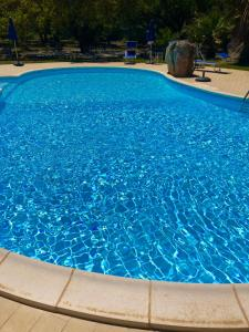 The swimming pool at or near Agriturismo Rocce Bianche