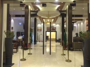 O saguão ou recepção de Tabalah ApartHotel