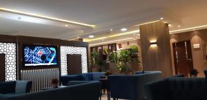 O lounge ou bar de Mera Houses Aparthotel