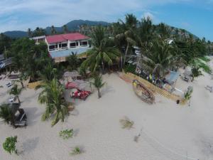 A bird's-eye view of Echo Beach Hostel