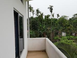 Balcony o terrace sa Homestaytion