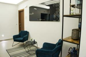A seating area at Albergo D'Onofrio