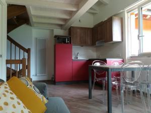 A kitchen or kitchenette at Ledro Nest