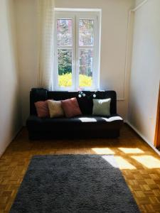 A seating area at Apartament Stara Oliwa