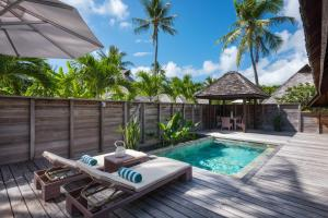 The swimming pool at or near Hilton Moorea Lagoon Resort & Spa