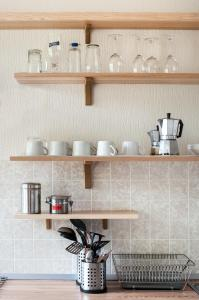 Küche/Küchenzeile in der Unterkunft Klaipeda Hostel