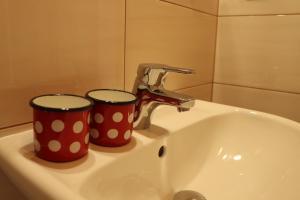Koupelna v ubytování Sport-hotel Šibeniční vrch