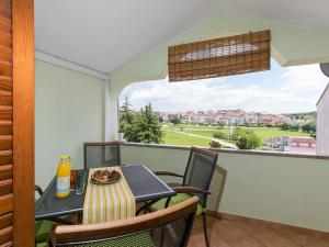 A balcony or terrace at Apartments Nada