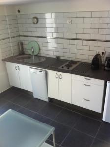 A kitchen or kitchenette at Gîte Polema