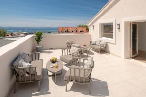 A balcony or terrace at Villa Basca