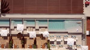 Utsikt över poolen vid Hotel Son Caliu Spa Oasis eller i närheten