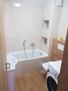 Kúpeľňa v ubytovaní VIP Apartmány Žabník