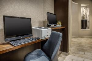 The business area and/or conference room at Courtyard Charlotte City Center