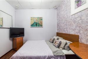 Кровать или кровати в номере ARS Hotel