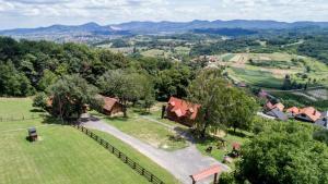 Letecký snímek ubytování Kuća za odmor Topličica