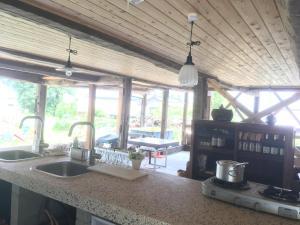 SOCKETにあるキッチンまたは簡易キッチン
