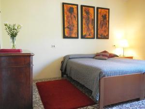 Letto o letti in una camera di Villa Albonico