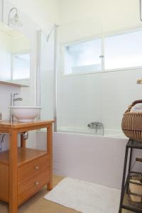 A bathroom at La Minotte