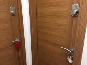A bathroom at LENA'S HOUSE