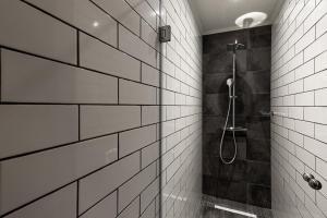 A bathroom at 31 Doors Hotel