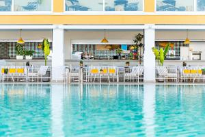 The swimming pool at or near Atlantic Holiday Hotel