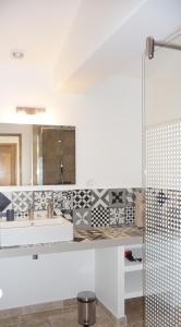 A bathroom at La Grande Bouisse