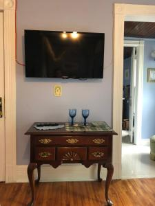 A television and/or entertainment center at Blue Gables Bed and Breakfast