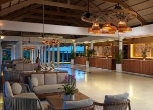 Лобби или стойка регистрации в Meliá Caribe Beach Resort-All Inclusive
