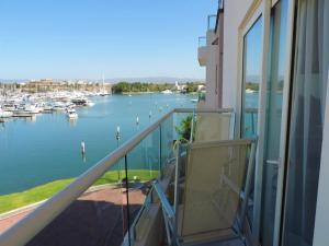 A balcony or terrace at Marina Banderas Suites Hotel Boutique