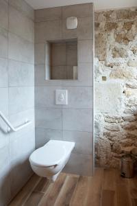 Salle de bains dans l'établissement Le Jas du Mas