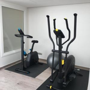 The fitness center and/or fitness facilities at Hotel KLE, BW Signature Collection