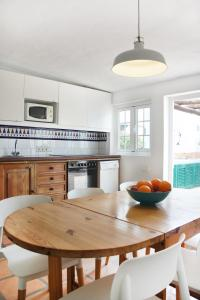 A kitchen or kitchenette at Casa Jable Azul