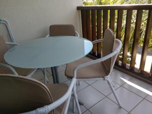 Uma varanda ou terraço em MARULHOS RESORT - STÚDIOS TEMPORADA