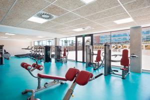 Gimnasio o instalaciones de fitness de Hotel Best Costa Ballena