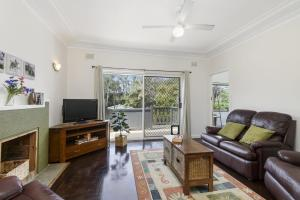 A seating area at 53 Hollingworth Street, Port Macquarie