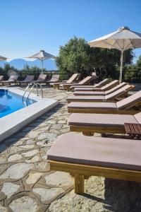 The swimming pool at or close to Meliti Hotel (Adults Only)