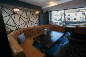 A seating area at Best Western Plus Nottingham City Centre
