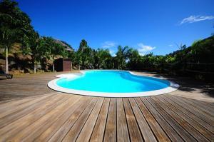 A piscina localizada em #6 Beach Villa Bliss by TAHITI VILLAS ou nos arredores