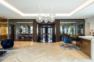 Lobby/Rezeption in der Unterkunft Ikador Luxury Boutique Hotel & Spa