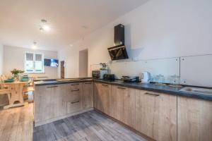 A kitchen or kitchenette at WILLA MAVI