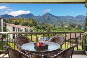 A general mountain view or a mountain view taken from the resort