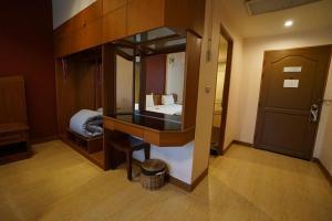 ห้องน้ำของ Country Lake View Hotel