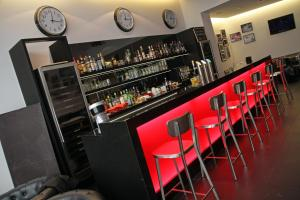 The lounge or bar area at Hotel Grey