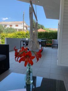 A balcony or terrace at Apartments Ana&Ita