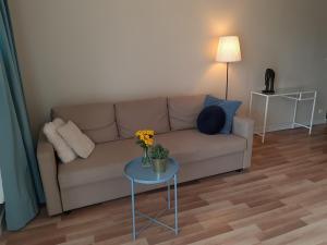 A seating area at Apartamenty Katrin