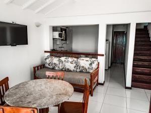 A seating area at La Boheme Hotel e Apart Hotel