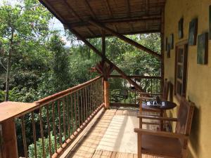 A balcony or terrace at ESTACION PARAISO DE DANTAS