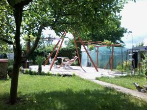 Children's play area at Guest House PETROVA