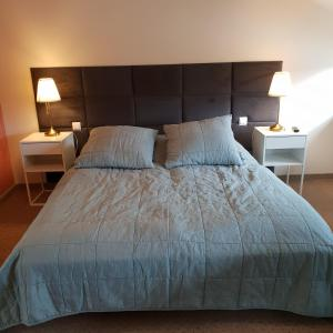 Łóżko lub łóżka w pokoju w obiekcie Willa Azalia